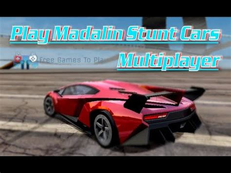 play madalin stunt cars multiplayer car games   driving games  play youtube
