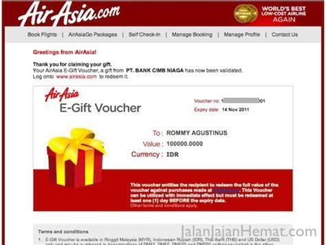 airasia voucher menggunakan electronic gift voucher airasia jalan jajan