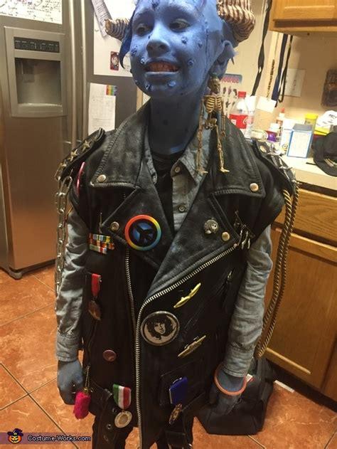 monsters maurice homemade costume photo