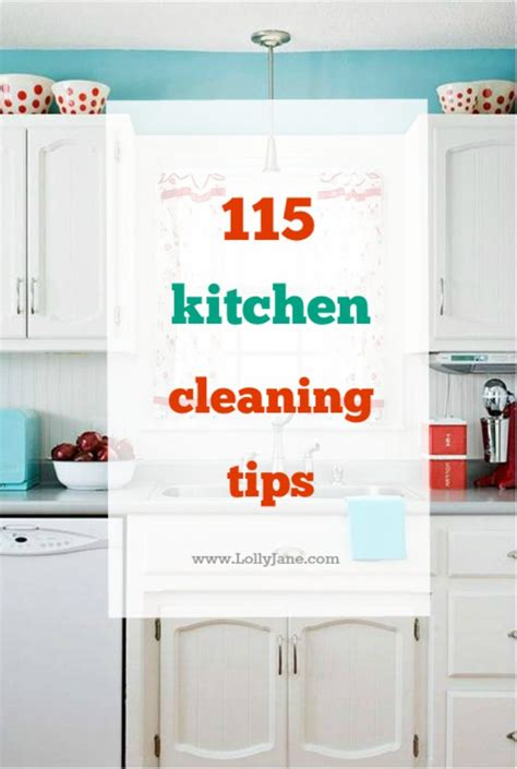 15 wonderfully simple kitchen cleaning tips clean kitchen signs mr t just b cause