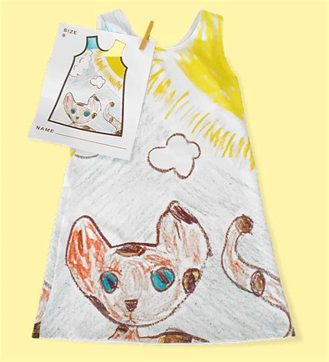 design clothes get them made this company lets kids design their own clothes bored panda