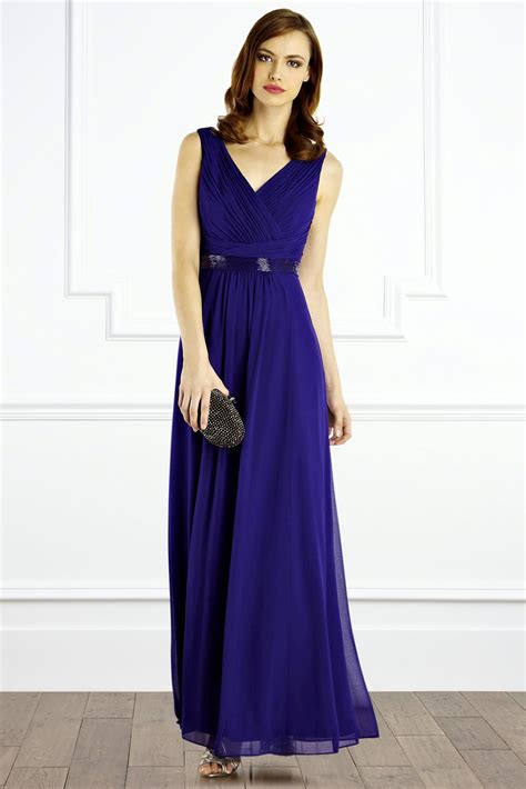 Thalia Maxy thalia maxi dress violet wedding dress from coast