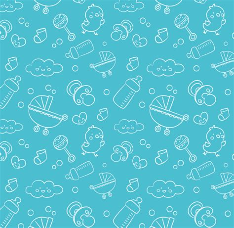 Icon Pattern Svg | free baby line icons pattern vector titanui