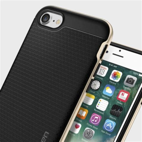 Spigen Hybrid Iphone 7 Plus Chagne Gold spigen neo hybrid iphone 7 chagne gold