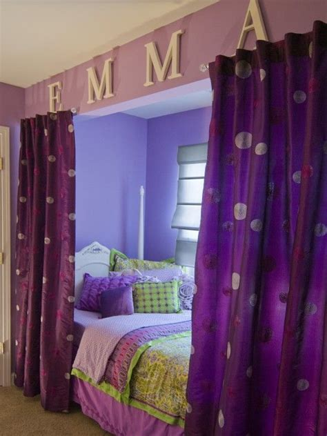 cute curtains for girls room 17 best ideas about purple girl rooms on pinterest