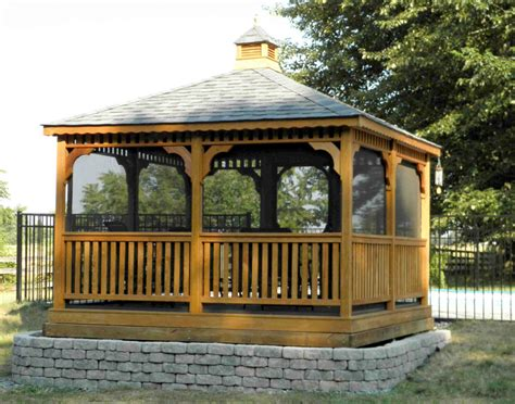 gazebo design astounding 12 x 12 screened gazebo 12 x12