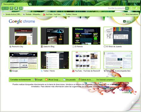 theme google chrome manchester city google agrega temas de artistas para google chrome