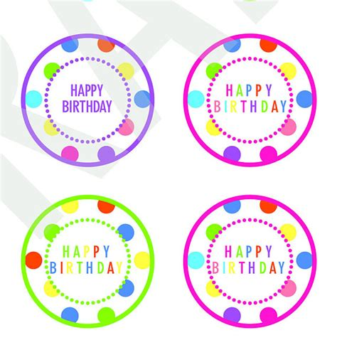 happy new year cupcake toppers paper trail design happy birthday cupcake toppers free printable paper trail
