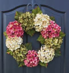 spring wreaths to make 25 best ideas about hydrangea wreath on pinterest