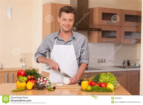 handsome cutting on chopping board stock photo image 43929547