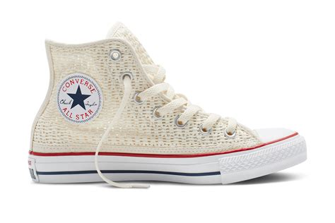 converse crochet sneakers converse releasing crochet chucks for photos