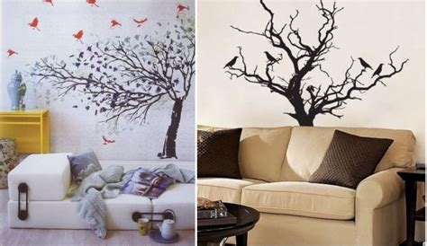 tree home decor lovely ideas to decorate your interior with tree branches