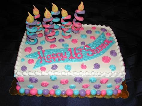 easy girl birthday cake ideas whimsical sixteenth birthday stuff emys pinterest