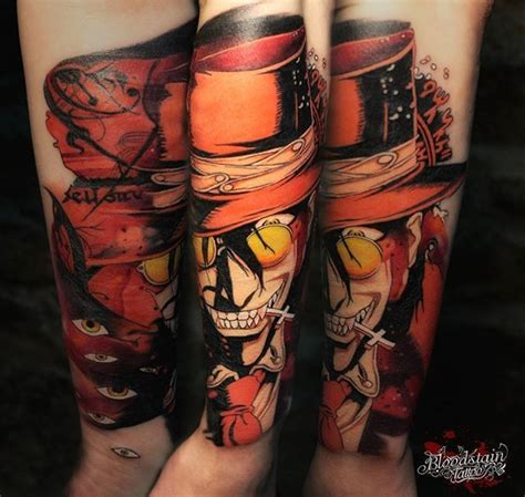hellsing tattoo hellsing done by anatoly bloodstain gamer visit