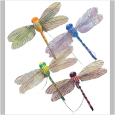 dragonfly floral picks 28 images artificial purple