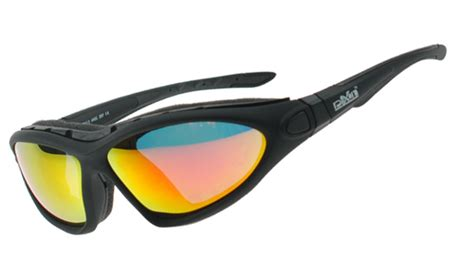 ski sunglasses that convert to goggles with windproof seal