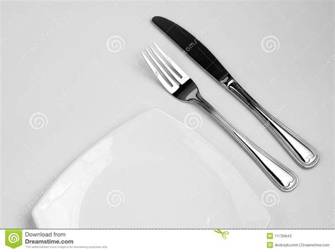 Beautiful Flatware by Place Setting For One Person Knife Square White Royalty