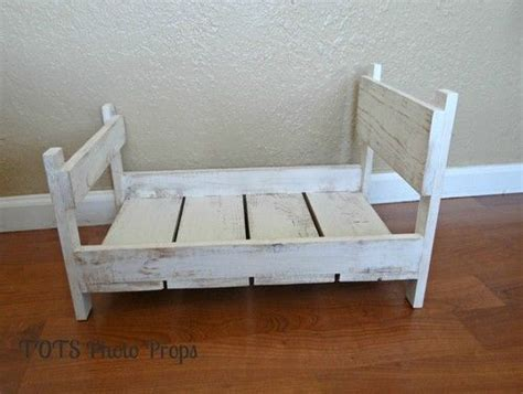 Furniture Their Backdrops 2 by Photo Prop Distressed Baby Bed Solid Wood Photography Prop