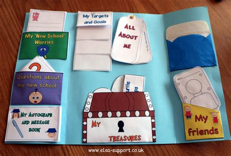 transition to another or class lapbook elsa support