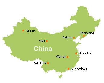 Canton China Map by Where Is Guangzhou In China Map