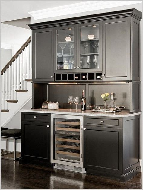 design refrigerator design  dining bar cabinet design