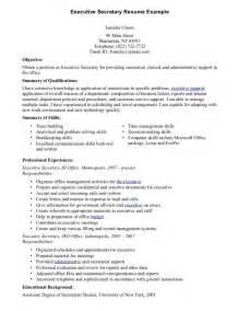 executive secretary resume sample resume secretary resume objective examples receptionist executive secretary resume samples visualcv resume