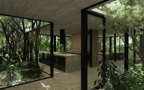 house interior architecture design bedroom for forest gres house in a brazilian rain forest by luciano kruk homeli