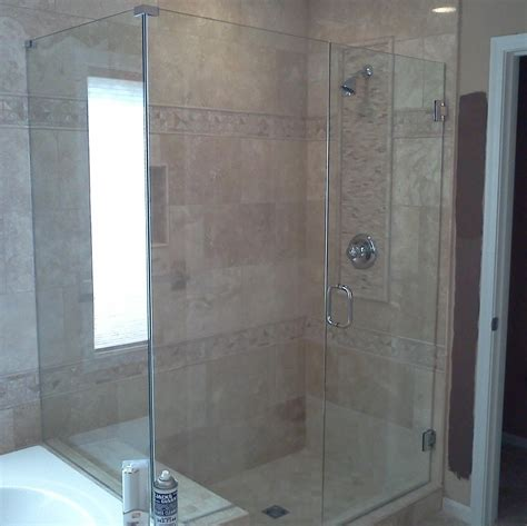 Glass Shower Door Ideas Glass Shower Doors Semi Frameless Shower Sliders Sliding Frameless Glass Shower Door Interior