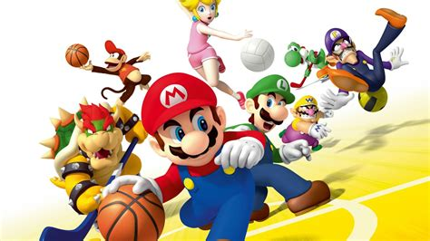 mario sports mix wallhd  hd background wallpapers