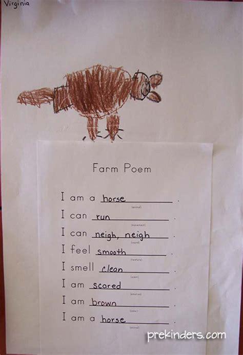 pre k farm theme prekinders