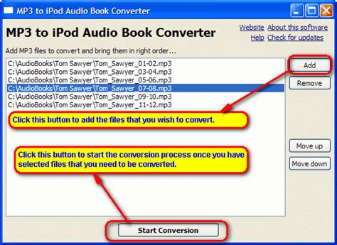 audio format textbooks ipod how to convert mp3 files to ipod audio book format m4b
