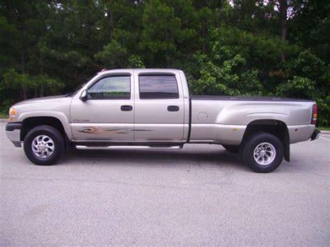 sell used 2001 gmc sierra 3500 4 door dually 8 1 liter gas engine 187k miles nice truck in