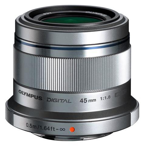 Olympus 45mm F1 8 Lens olympus m zuiko digital ed 45mm f1 8 silver lens for