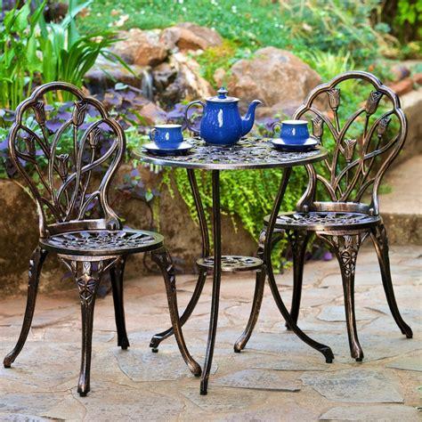 wrought patio furniture garden furniture the garden and patio home guide