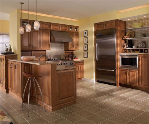 what is the best finish for kitchen cabinets maple cabinets in medium finish diamond cabinetry