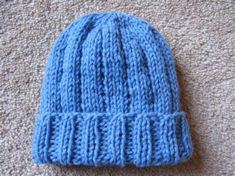 baby hat measurements knit modelwidow boy blue preemie hat