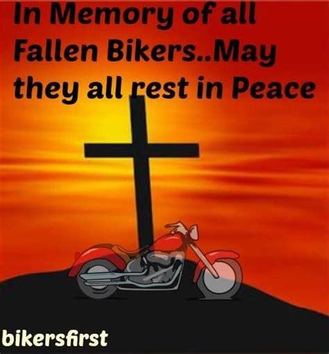fallen bikers rip bikersfirstcom bikers  pinterest bikers