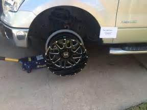 Texas 20x12 hostile sprockets blade cut ford f150 forum community