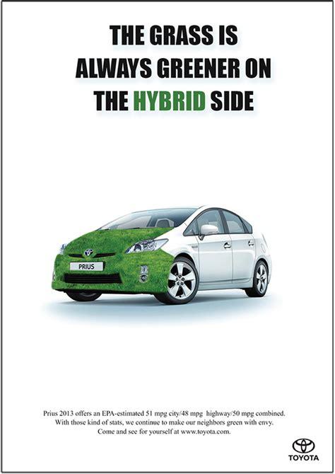 Toyota Hybrid Advert Toyota Prius Advertisement On Behance