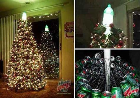 ideas de como hacer arbol navide241o con latas recicladas de 50 fotos 193 rboles de navidad reciclados 193 rbol de navidad reciclado