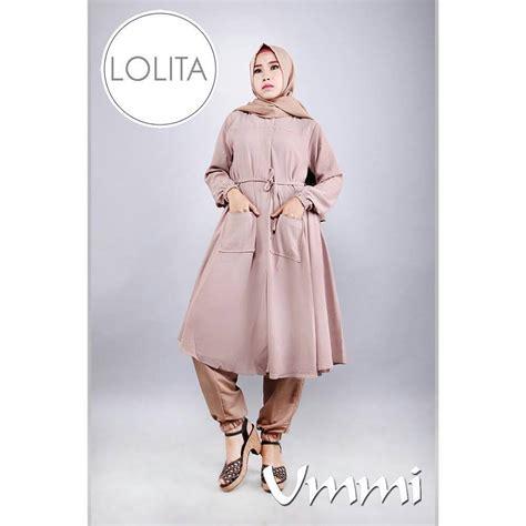 Baloteli Kyla Gamis Kyla Dress brown baju muslim gamis modern