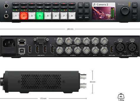 Blackmagic Atem Television Studio Pro Hd blackmagic design atem television studio hd 사양