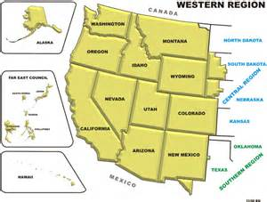united states west region map rayle10 west 2011