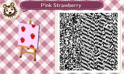 animal crossing pink wallpaper qr codes animal crossing new leaf qr codes