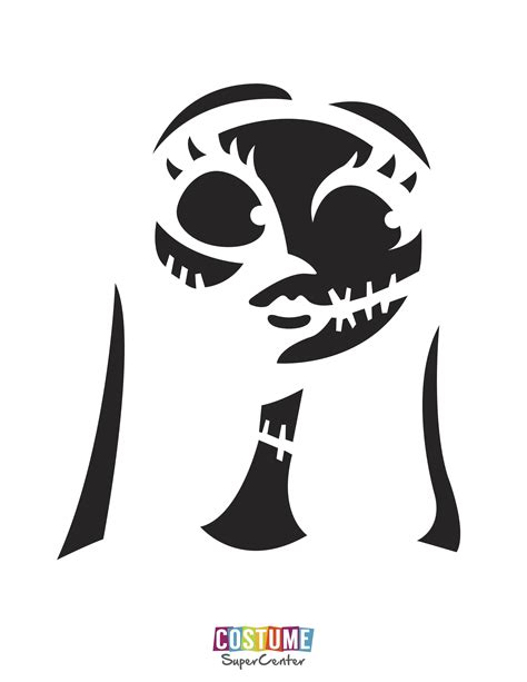 Nightmare Before Christmas Stencil Christmas Decore Nightmare Before Pumpkin Carving Template
