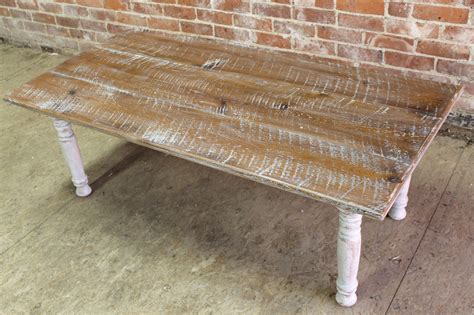 Rustic White Coffee Table Rustic White Wash Coffee Table Rascalartsnyc