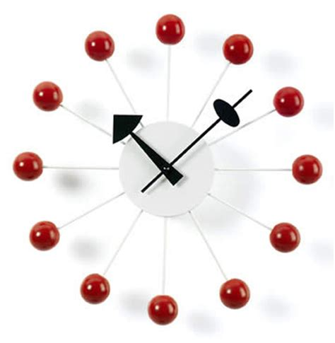 red ball clock