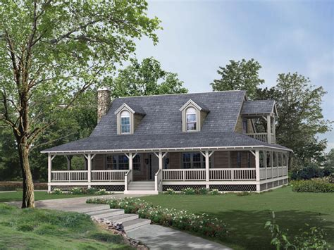 fashioned farmhouse plans country home design with wraparound porch homesfeed