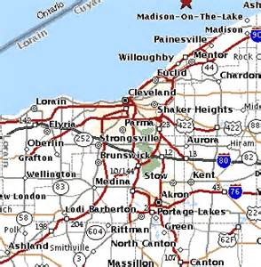 Northeast Ohio Map by Map Of Ne Ohio Pictures To Pin On Pinterest Pinsdaddy