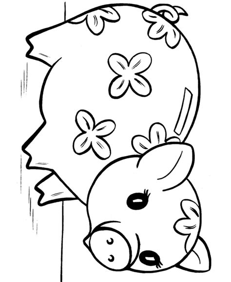 pigs coloring pages coloring home pig print out coloring home